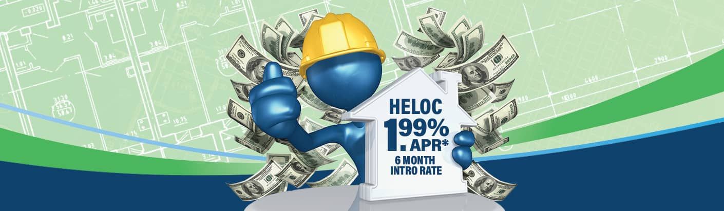 Q4 Ultimate HELOC promotional landing page.